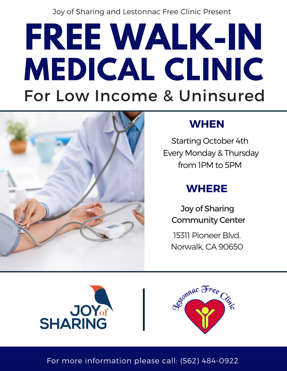 Medical Clinic Flier