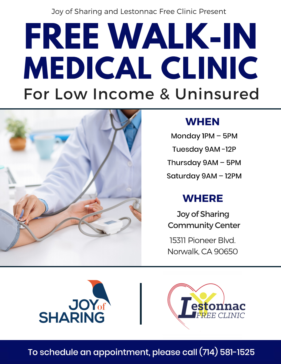 Free Walk-In Medical Clinic